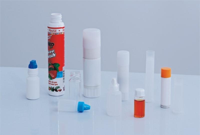 Bottling case of pill capsules